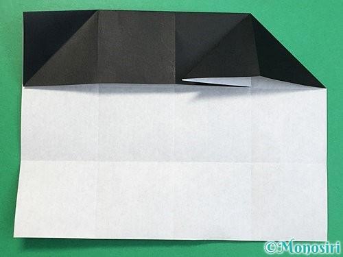 折り紙でパンダの折り方手順35