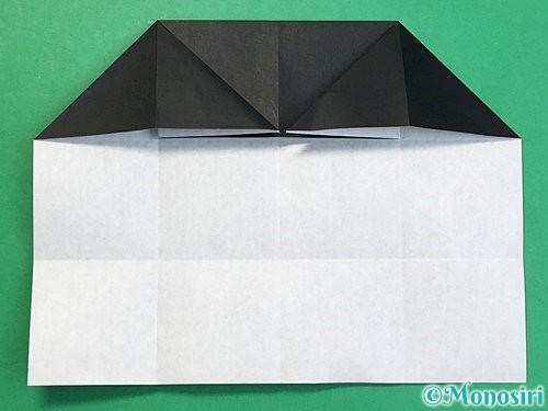 折り紙でパンダの折り方手順36