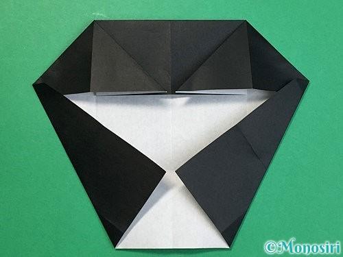 折り紙でパンダの折り方手順38