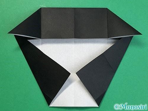 折り紙でパンダの折り方手順40