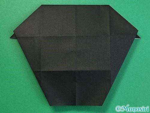 折り紙でパンダの折り方手順41