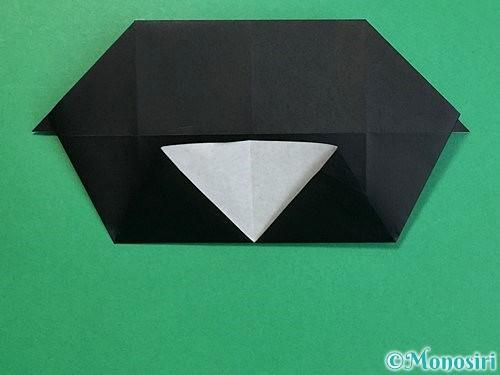 折り紙でパンダの折り方手順43