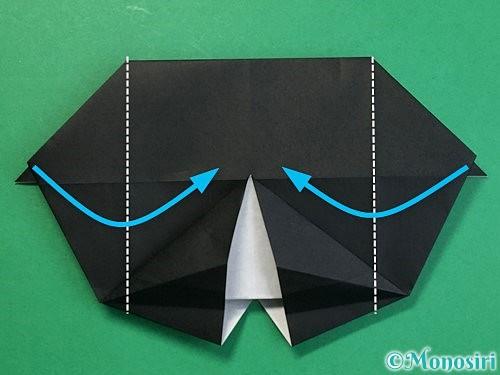 折り紙でパンダの折り方手順50