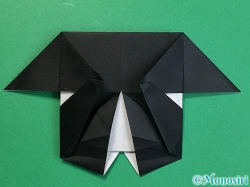 折り紙でパンダの折り方手順51