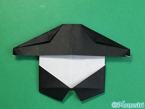 折り紙でパンダの折り方手順56