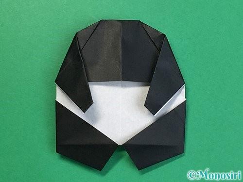 折り紙でパンダの折り方手順58