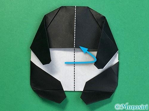 折り紙でパンダの折り方手順63