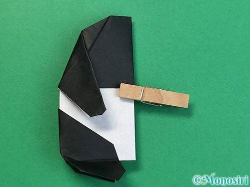 折り紙でパンダの折り方手順64