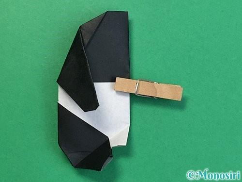折り紙でパンダの折り方手順66