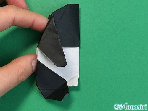 折り紙でパンダの折り方手順67