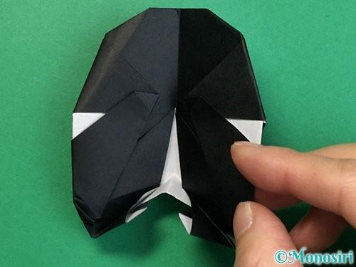 折り紙でパンダの折り方手順69
