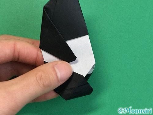 折り紙でパンダの折り方手順72