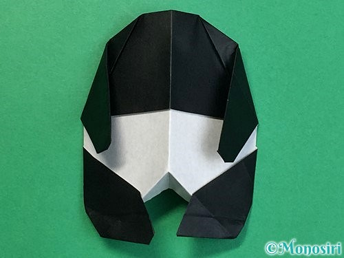折り紙でパンダの折り方手順74