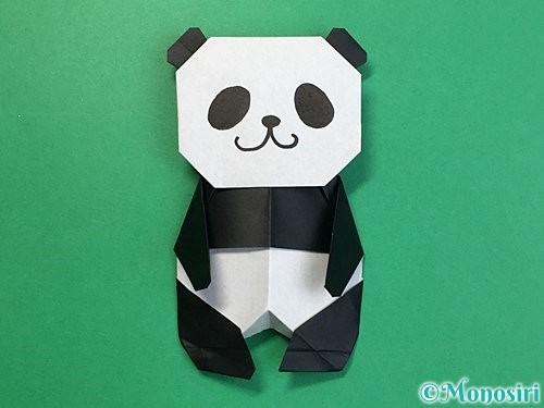 折り紙でパンダの折り方手順75