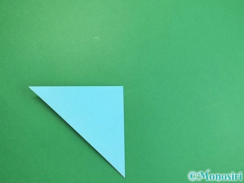 折り紙で貝の折り方手順4