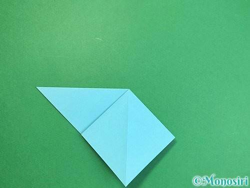 折り紙で貝の折り方手順8