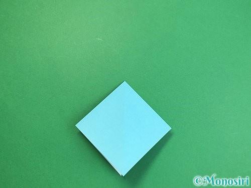 折り紙で貝の折り方手順9