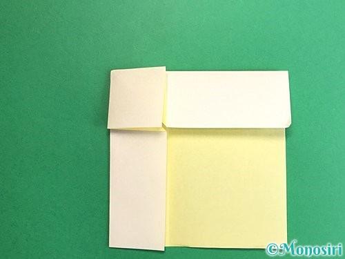 折り紙でイカの折り方手順8