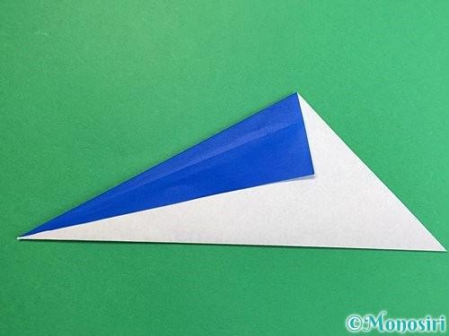 折り紙でペンギンの折り方手順5