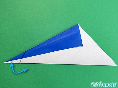 折り紙でペンギンの折り方手順6