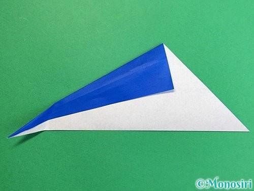 折り紙でペンギンの折り方手順7