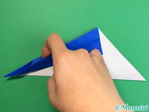 折り紙でペンギンの折り方手順8