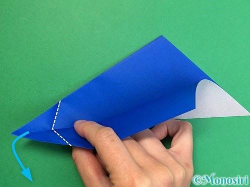 折り紙でペンギンの折り方手順9