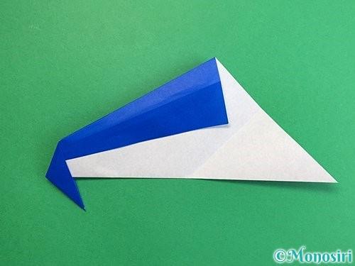 折り紙でペンギンの折り方手順13