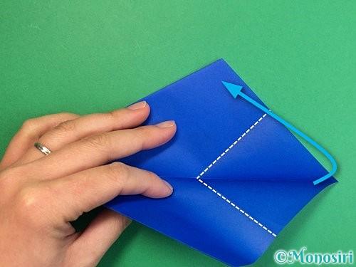 折り紙でペンギンの折り方手順15