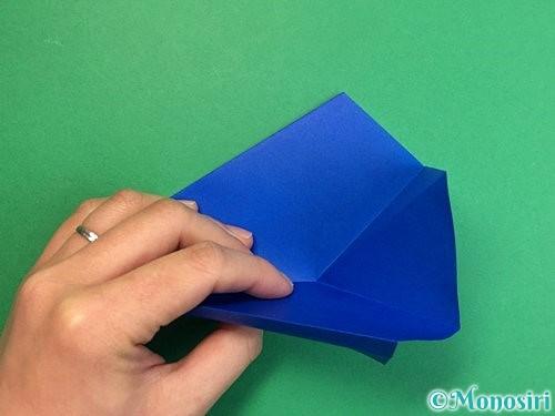 折り紙でペンギンの折り方手順16