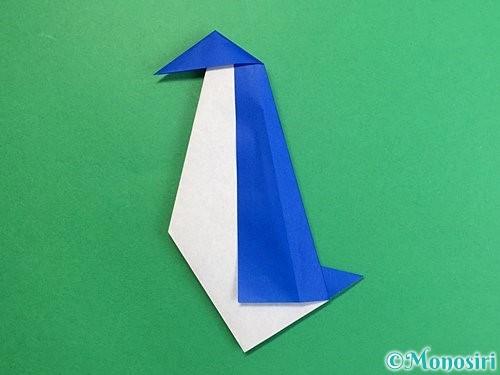 折り紙でペンギンの折り方手順18