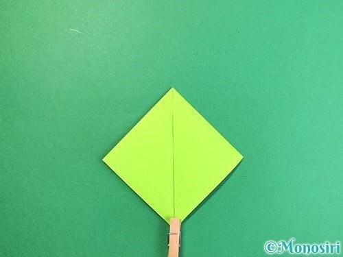 折り紙で亀の折り方手順6