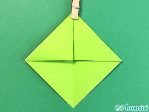 折り紙で亀の折り方手順8