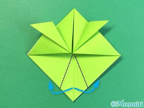 折り紙で亀の折り方手順13
