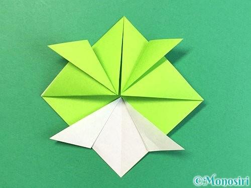 折り紙で亀の折り方手順14
