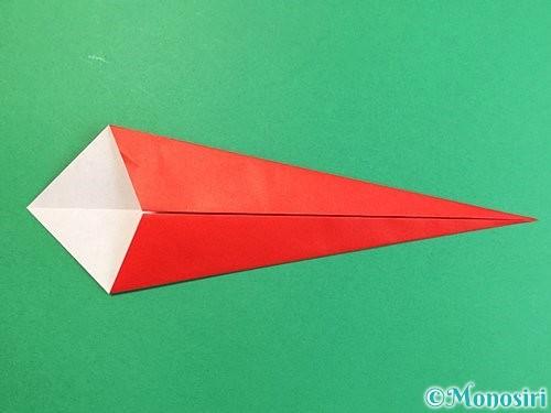 折り紙でエビの折り方手順6