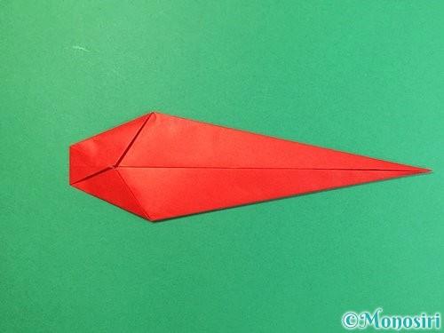 折り紙でエビの折り方手順10