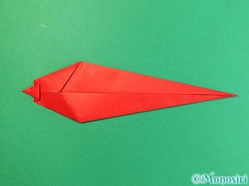 折り紙でエビの折り方手順12