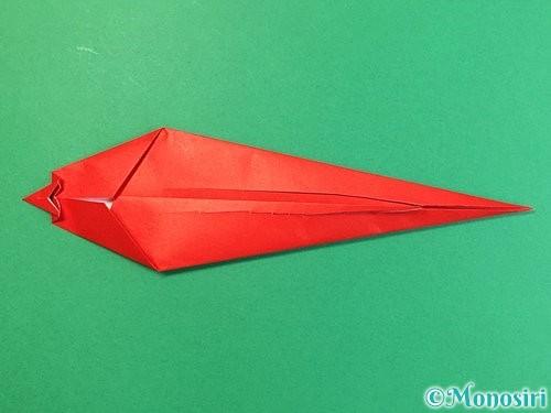 折り紙でエビの折り方手順16