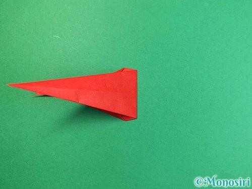 折り紙でエビの折り方手順22