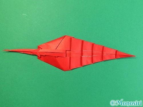 折り紙でエビの折り方手順26