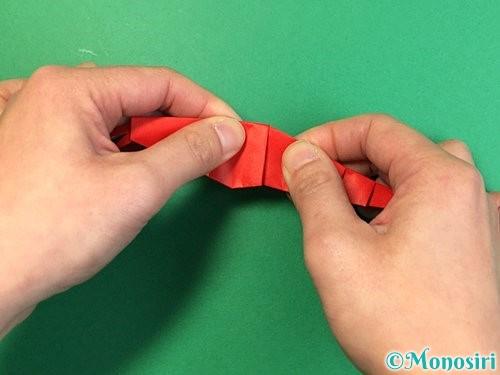 折り紙でエビの折り方手順31