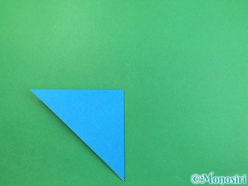 折り紙でサメの折り方手順4