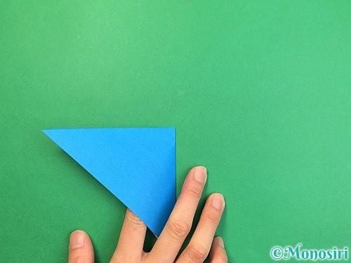 折り紙でサメの折り方手順5