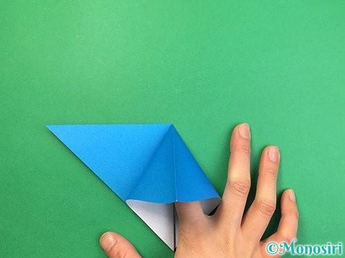 折り紙でサメの折り方手順6