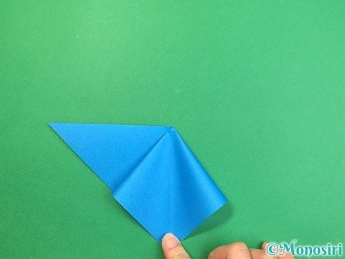 折り紙でサメの折り方手順7