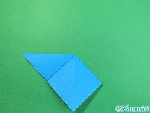 折り紙でサメの折り方手順8