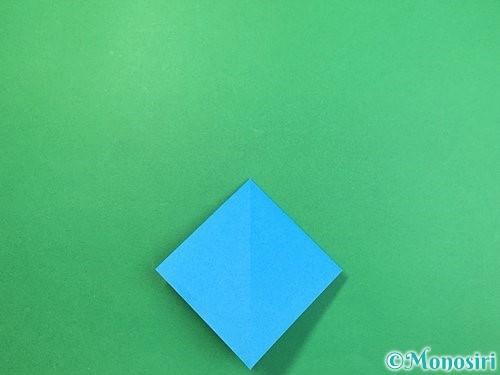 折り紙でサメの折り方手順9