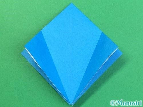 折り紙でサメの折り方手順11
