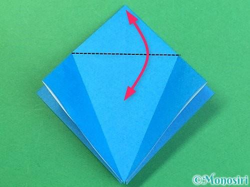 折り紙でサメの折り方手順12